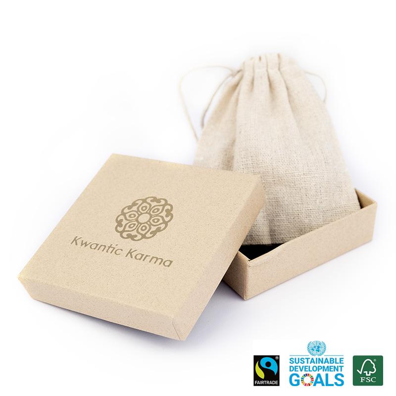 boîte et sac de présentation